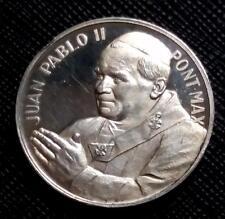 ND VATICAN POPE JOHN PAUL II - Pont Max - RARE PROOF SILVER MEDAL