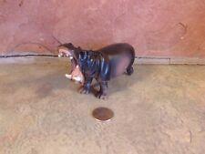 """Battat Hippopotamus open mouth 3"""" tall 5"""" long r2"""