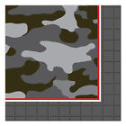Operation Camo Army Birthday Party Supplies Small Beverage Napkins