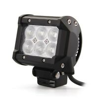 4x 18W Cree LED Work Light Flood Beam 12v 24v 4WD Offroad Lamp Car Truck Jeep