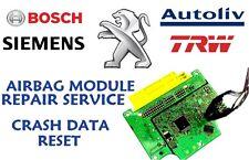 PEUGEOT 207 9675068880 AIR BAG SRS ECU AIRBAG MODULE CRASH DATA RESET SERVICE