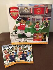 Arsenal Soccer Buildable Playmaker Set And 2 Extra Figures Works With LEGO