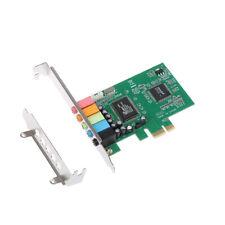 New PCI Express PCI-E 5.1 Ch 6 Channel Audio Digital Sound Card Support WIN7E3R