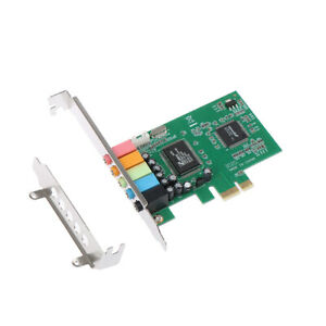 New PCI Express PCI-E 5.1 Ch 6 Channel Audio Digital Sound Card Support W Ag