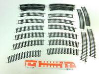BT738-0,5# 30x Piko H0/DC 1/1-760 Gleis/Gleisstück gebogen, NEUW