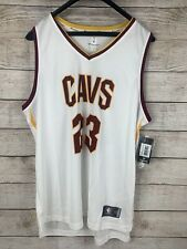 NWT Fanatics FastBreak Cleveland Cavs NBA LeBron James #23 Home Jersey XL