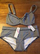 5169b360dbfa0 Bnwt Freya Underwired Bikini Top Size 30F Bottom Small