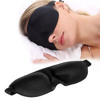 2X 3D Augenmaske Schlafbrille Schlafmaske Augenbinde for Reise Eye Mask NEW.^