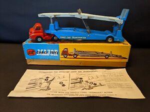 Corgi Toys No 1101 Bedford Carrimore Car Transporter Original Box & Instructions