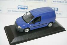 Minichamps, 1:43, VW Caddy Kasten, blau, neu, OVP