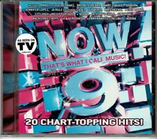 Now 9 That's What I Call Music  20 Chart-Topping Hits BRAND  NEW SEALED CD