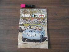 Brochure commerciale Prospekt Prospectus Dépliant publicitaire BMW 700-NO ISETTA