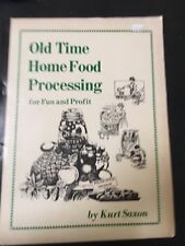 Old Time Home Food Processing For Fun N Profit 1977 Kurt Saxon Mint Condition