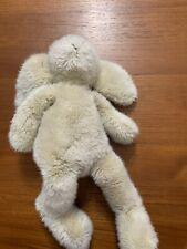 Vintage The London Toy Company Stuffed Bunny Rabbit Beige Tan Lovey