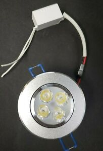 """2.25"""" LED Recessed Light for Flat or Sloped Ceilings"""
