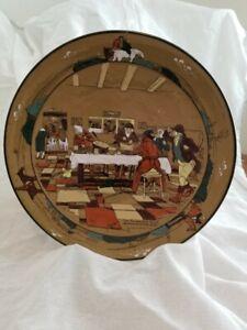 1908 Buffalo Pottery Deldare Ware Platter Fallowfield Hunt, Breakfast