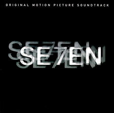 """Se7En"" Soundtrack (Cd 1995, Tvt) Howard Shore score Seven *Excellent* sryb"