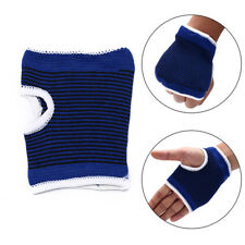 1pc wrist support elastic hand palm brace wrap band sleeve guard for SportCF