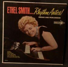ETHEL SMITH RHYTHM ANTICS ORGAN & PERCUSSION DECCA -DL 4414 LP