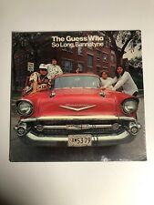 The Guess Who So Long Bannatyne LP on RCA LSP-4574 From 1971 Still Sealed