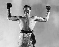 1934 Heavyweight Champion MAX BAER Glossy 8x10 Boxing Photo Glossy Boxer Poster