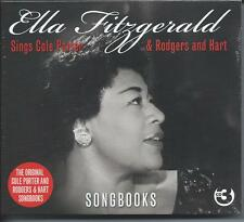 Ella Fitzgerald Songbooks - Sings Cole Porter & Rodgers & Hart (3CD) NEW/SEALED