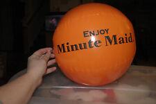 NIP MINUTE MAID ORANGE JUICE INFLATABLE ORANGE BALL