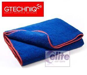 "Gtechniq MF2 Zero Scratch Microfibre Drying Towel 36x24"" (Pack of 2) Safe & Soft"