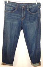 Banana Republic Women's 28 6 Jeans Slim Boyfriend Dark Wash EUC Free Ship