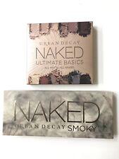 Urban Decay Naked Smoky Smokey Eyeshadow & Ultimate Basic Palette Set Authentic
