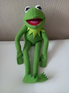 """Junior Toys Vintage The Muppets Kermit The Frog Bendy Legs Soft Plush Toy 19"""""""