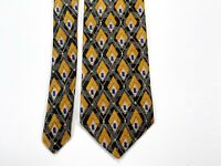 Robert Talbott Best Of Class Multicolor Silk Geometric Diamond Men's Necktie