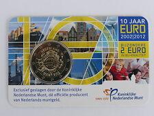 2 Euro commémorative des Pays-Bas 2012 Brillant Universel (BU) - 10ans de l'Euro
