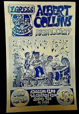 EGRESS - ALBERT COLLINS - Concert Poster- Shankaruk Artist