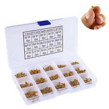 450pcs Ceramic Capacitor Assortment Box Kit Range 15 Value 10pF-100nF