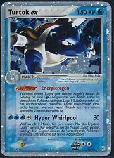 > Pokémon Karte Turtok ex / Blastoise ex 104/112 - EX Feuerrot & Blattgrün - NM