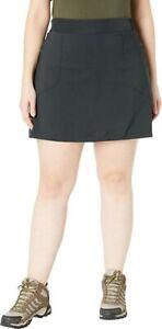 Columbia Women's Plus Size Omni-Shade Bryce Canyon Skort Black Size 2X