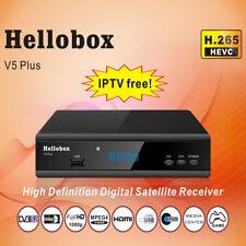 Hellobox V5 Plus Satellite Receiver 3 Months Free IPTV PowrVu IKS Biss fully aut