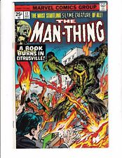 MAN-THING #17 (VF+) 2nd Appearance of THE MAD VIKING! 1975 Marvel Comic