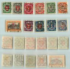 Danzig 1930 SC 200-210 used 1921-1930 . e4053