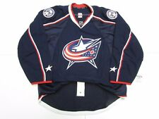 COLUMBUS BLUE JACKETS AUTHENTIC NEW HOME REEBOK EDGE 2.0 7287 JERSEY SIZE 54
