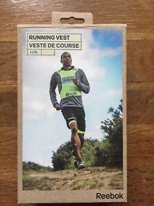 REEBOK Reflective LED running safety vest size L/XL