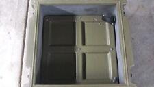 Ex Army Large Storage Box  Hard Plastic Heavy Duty Trim-cast Australia