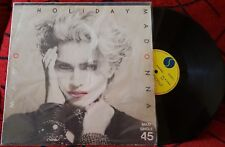 "MADONNA ***Holiday / Lucky Star*** VERY SCARCE 12"" Single SPAIN ARIOLA 1983 RARE"