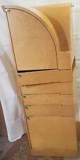 Nyn corner cabinet marple Chi Wing Lo Giorgetti cassettiera angolare 48x48x140cm