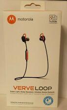 Motorola VerveLoop Hd Wireless Water Resistant & Light Stereo Earbuds Verve Loop