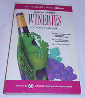 Guide Best Wineries North America Andre Gayot Gault Millau Travel USA 1993 PB