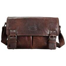 Pride and Soul Postbag M Queens's Sensation Vintage Damentasche Leder braun 4751