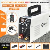 MMA Digital Stick Welder 400A ARC DC IGBT Welding Inverter Machine Handheld 220V