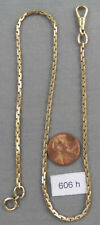 Long Gold Filled Pocket Watch Chain No. 1